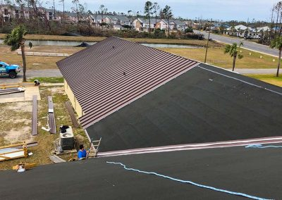 Metal Roof Replacement Claim