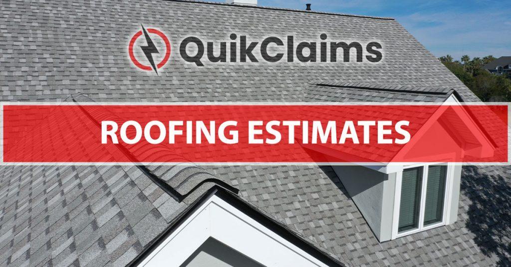 Roofing Estimate Templates